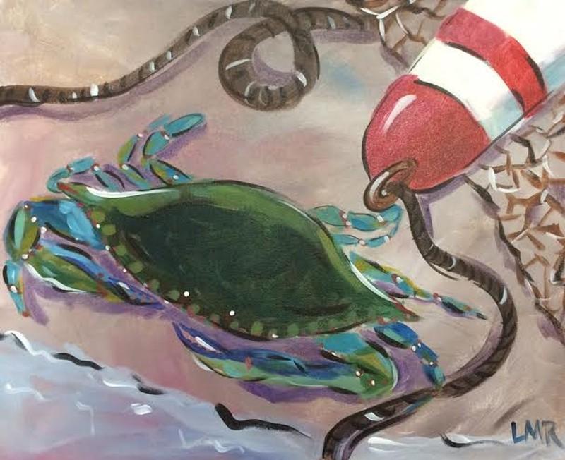Blue Crab Buoy