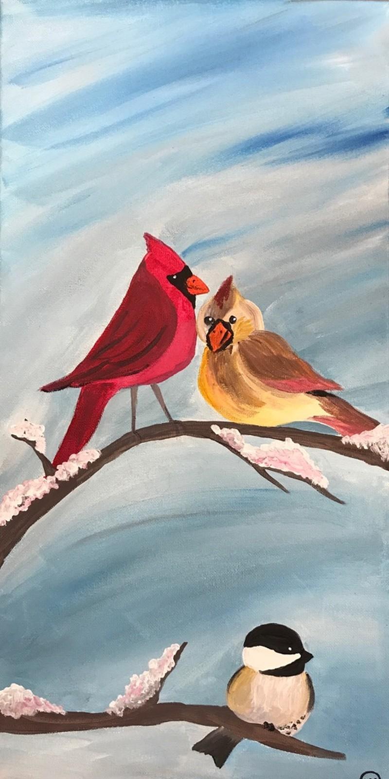 Wisconsin Winter Birds