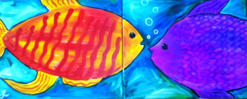 Mommy & Me Summer Fish