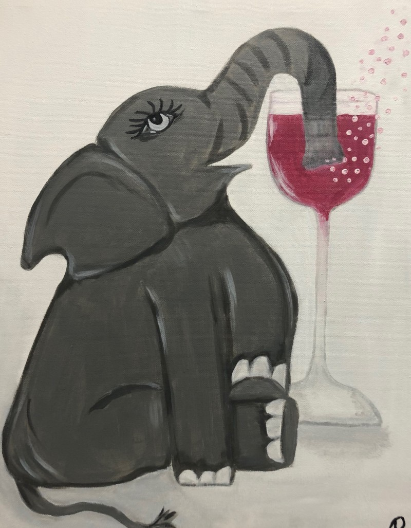 Elephant Cheers: Kit NO Brushes