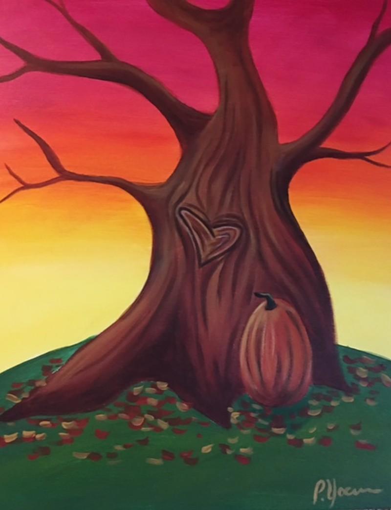 IN STUDIO | FALL TREE OF LOVE