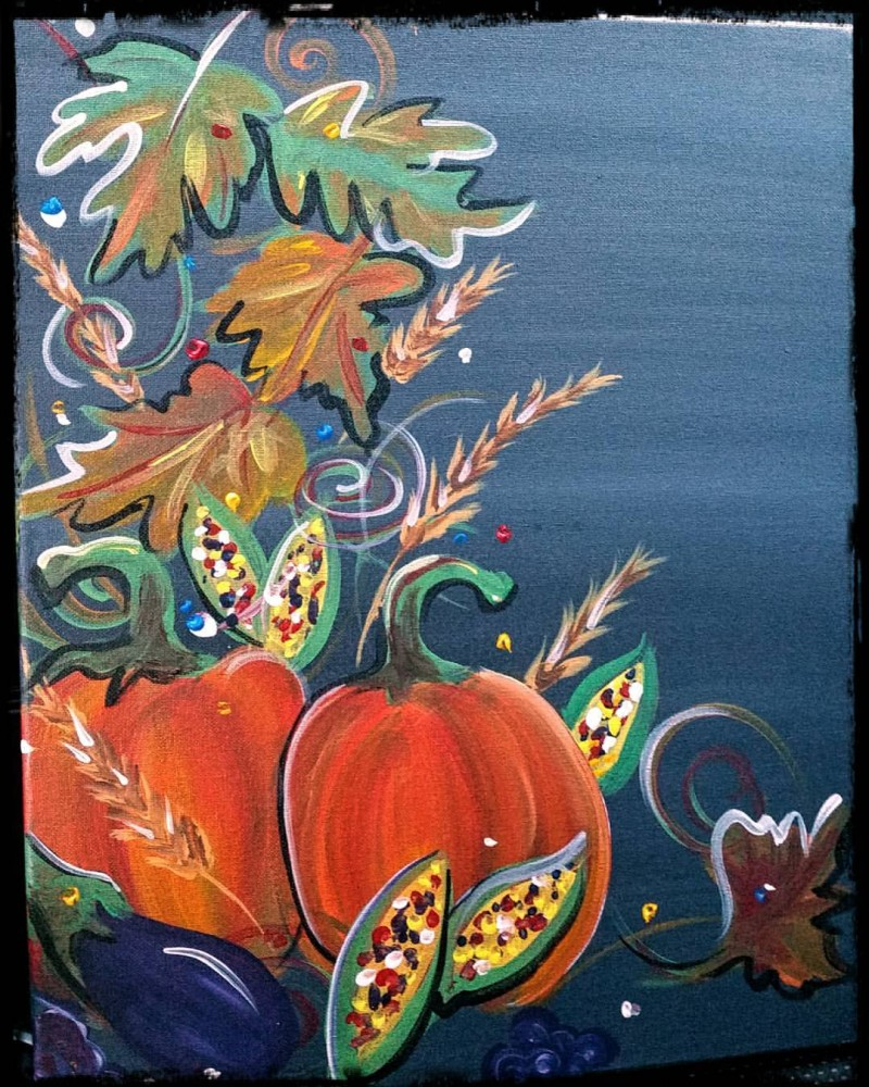 Fall Harvest: In Studio Class!