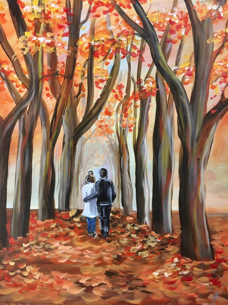 In Studio | Fall Walk in Love