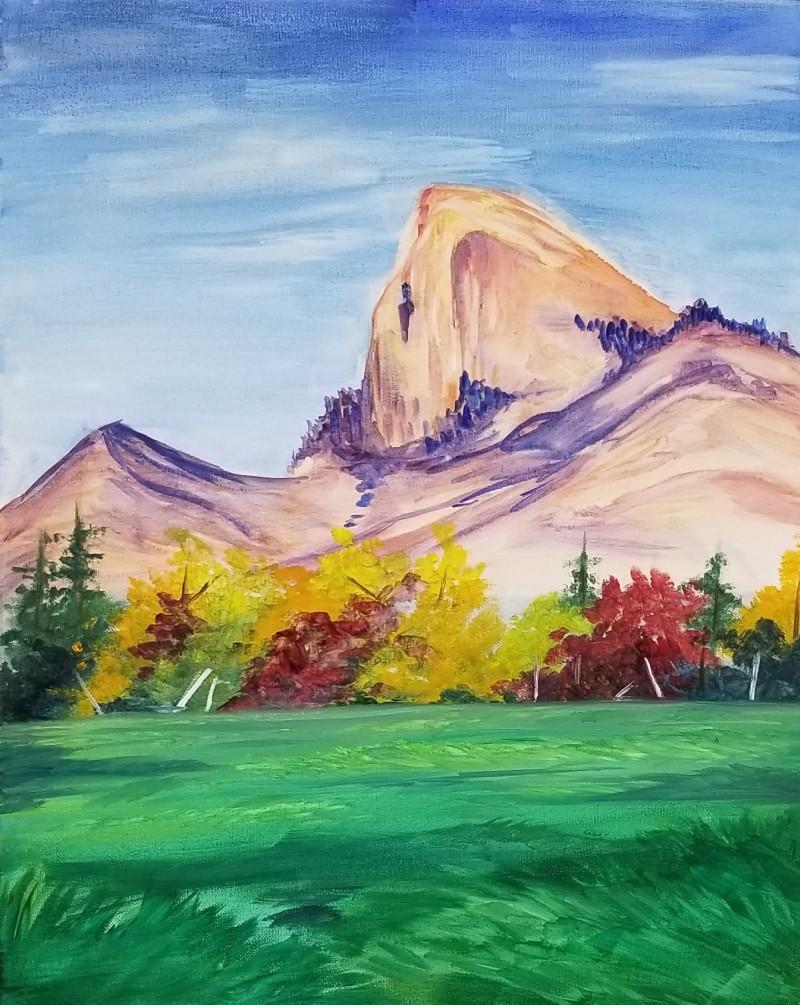 In Studio: Fall Mountain