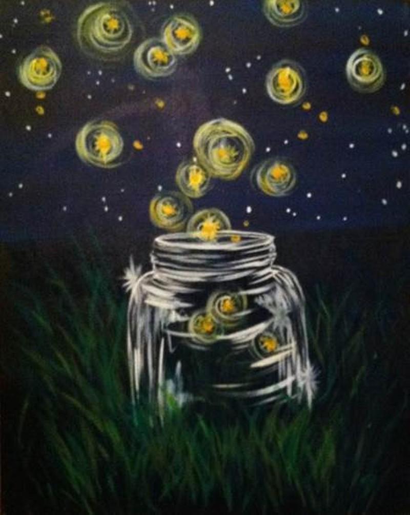 LIVE Virtual Class: Mason Jar Fireflies