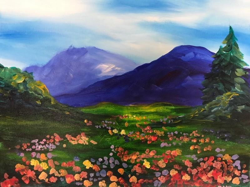 Virtual Class: Mountain Wildflowers