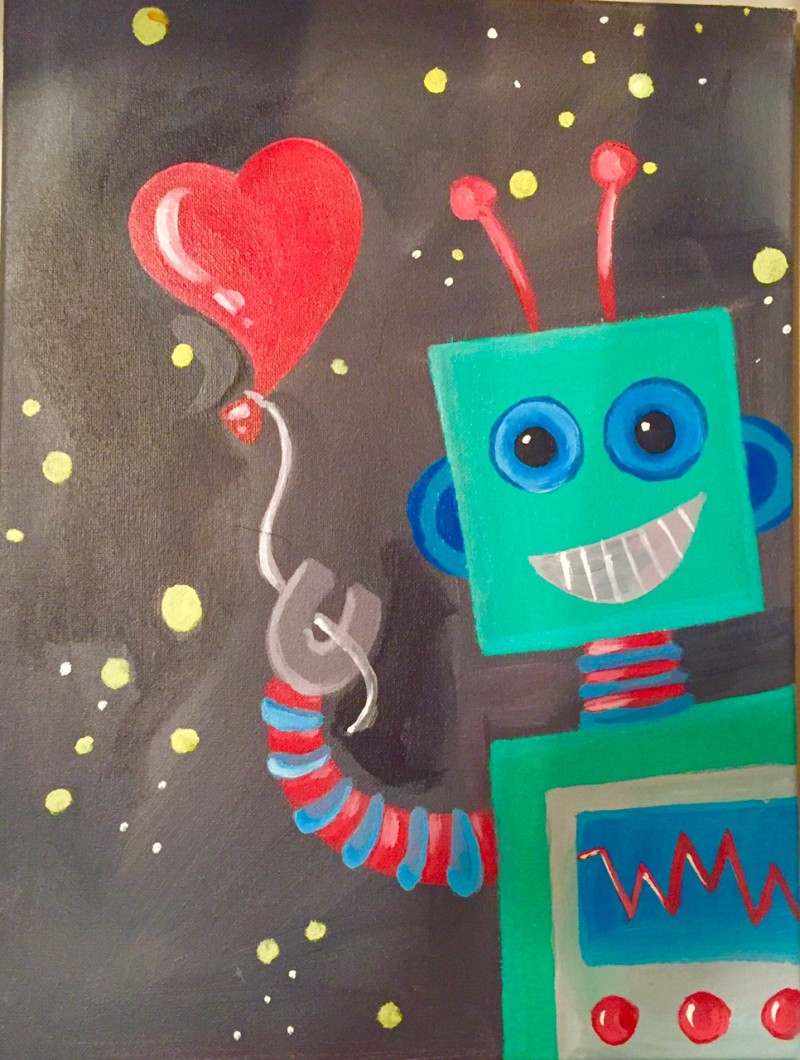 Art of Science 1 Day Camp: Robot Experiment - Tuesday 7/6 9am-1pm
