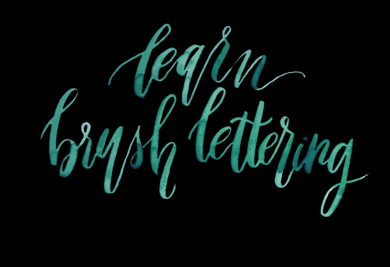 LIVE Virtual Class - Brush Lettering