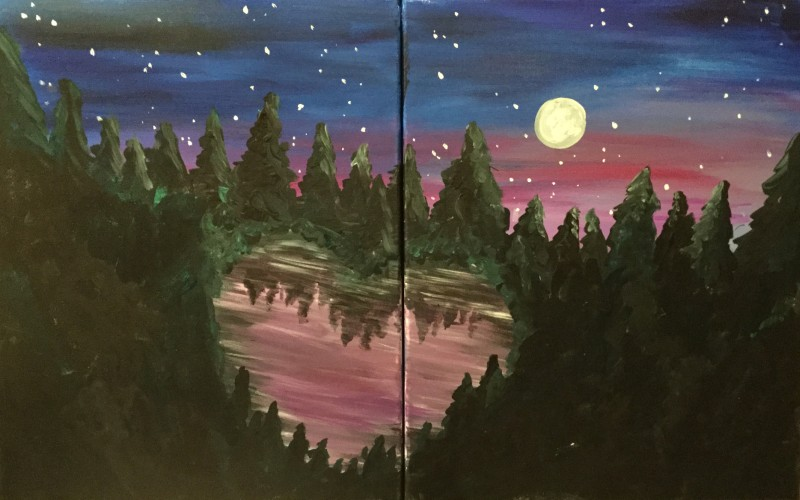 In Studio | Heart Lake Date Night