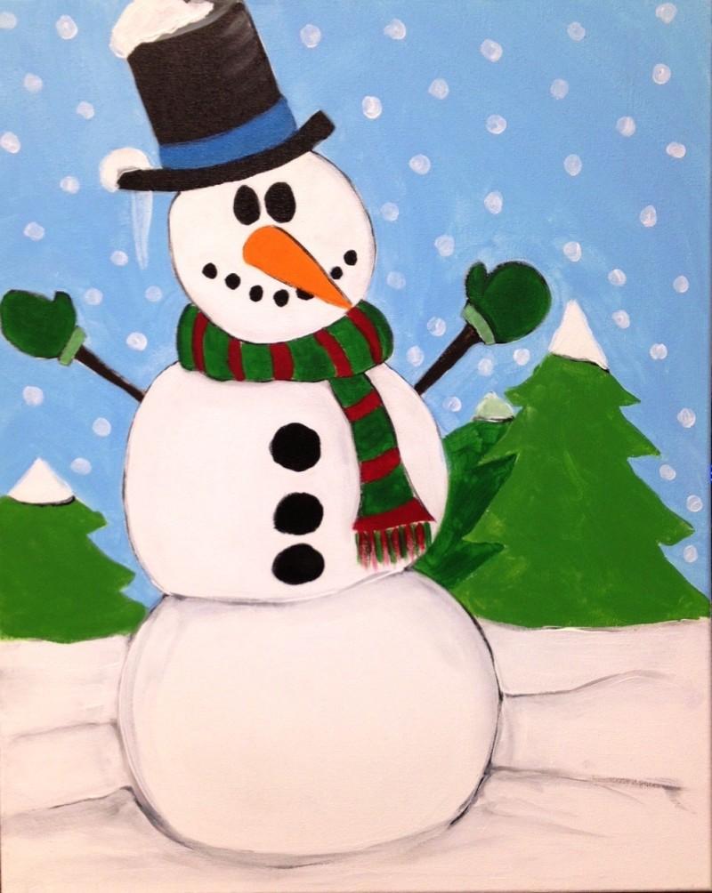 Kiddo Snowman - ZOOM Virtual Class with Take-Home Kit!