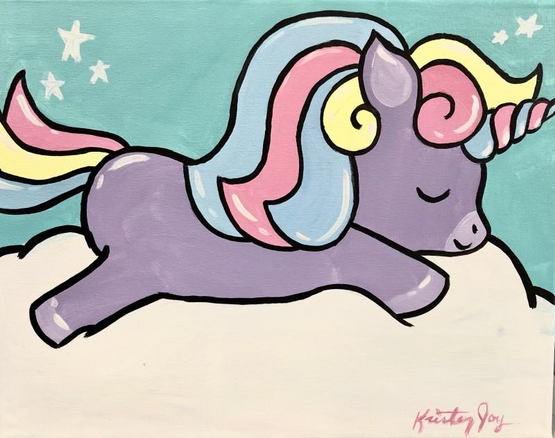 KIT: Sleepy Pastel Unicorn