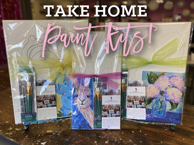 TAKE HOME PAINT KITS!!