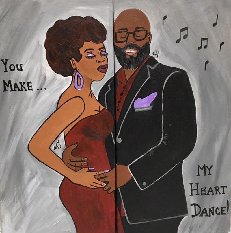 You Make My HeART Dance! 3:00-5:00pm (Customer Request)