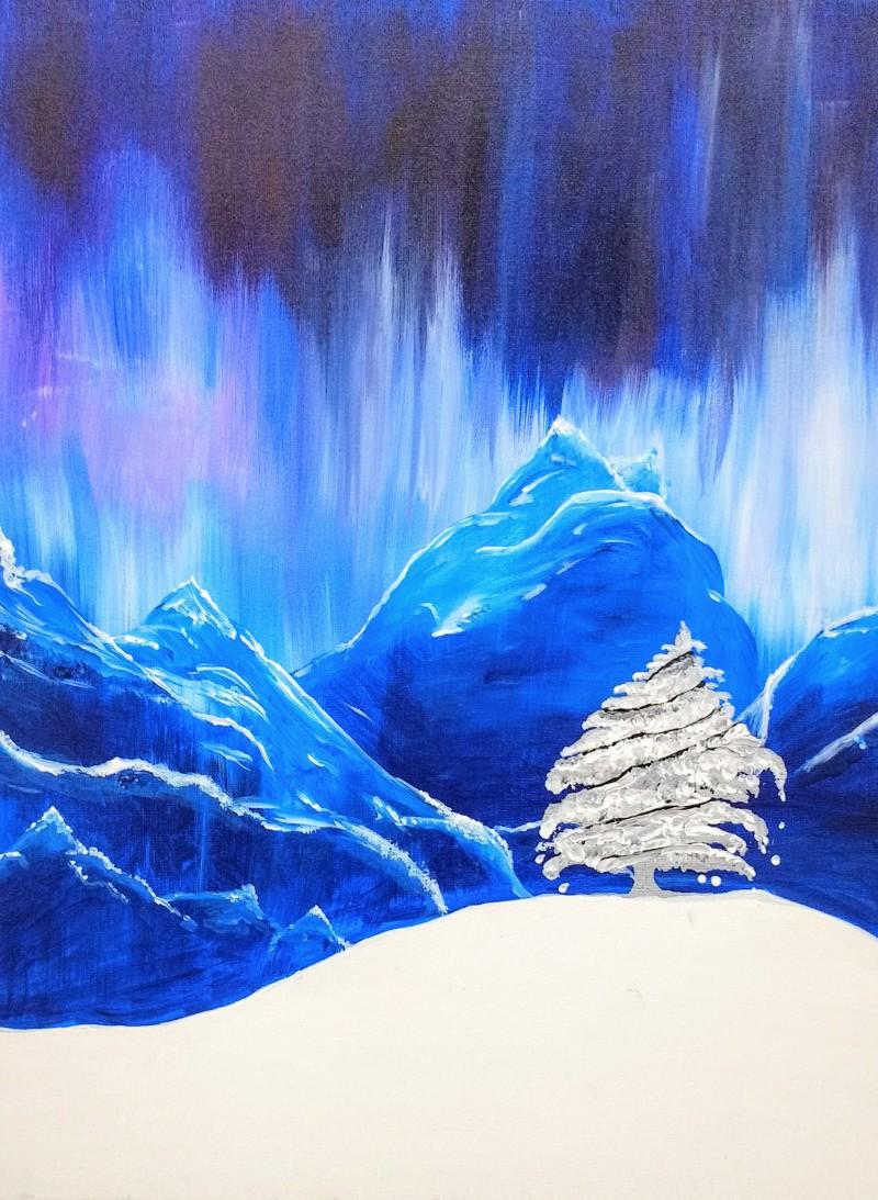 Blue Snowfall
