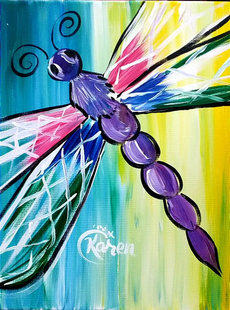 LIVE Virtual Class: Spring Dragonfly