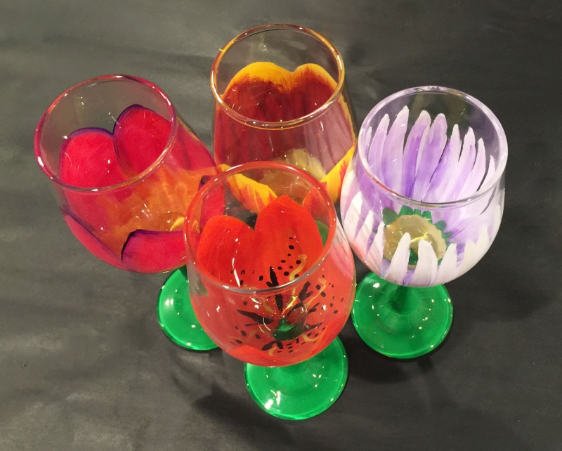 Wine & Design @ Avian Glen Winery (Wine Glasses)