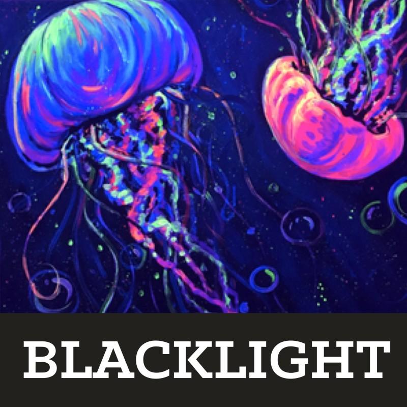BLACKLIGHT JELLIES