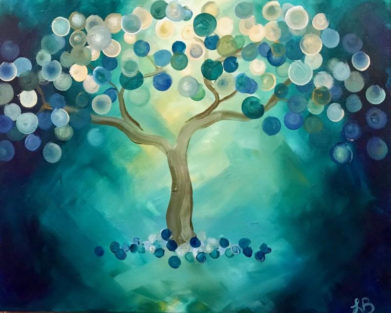 ZOOM | Bokeh Tree