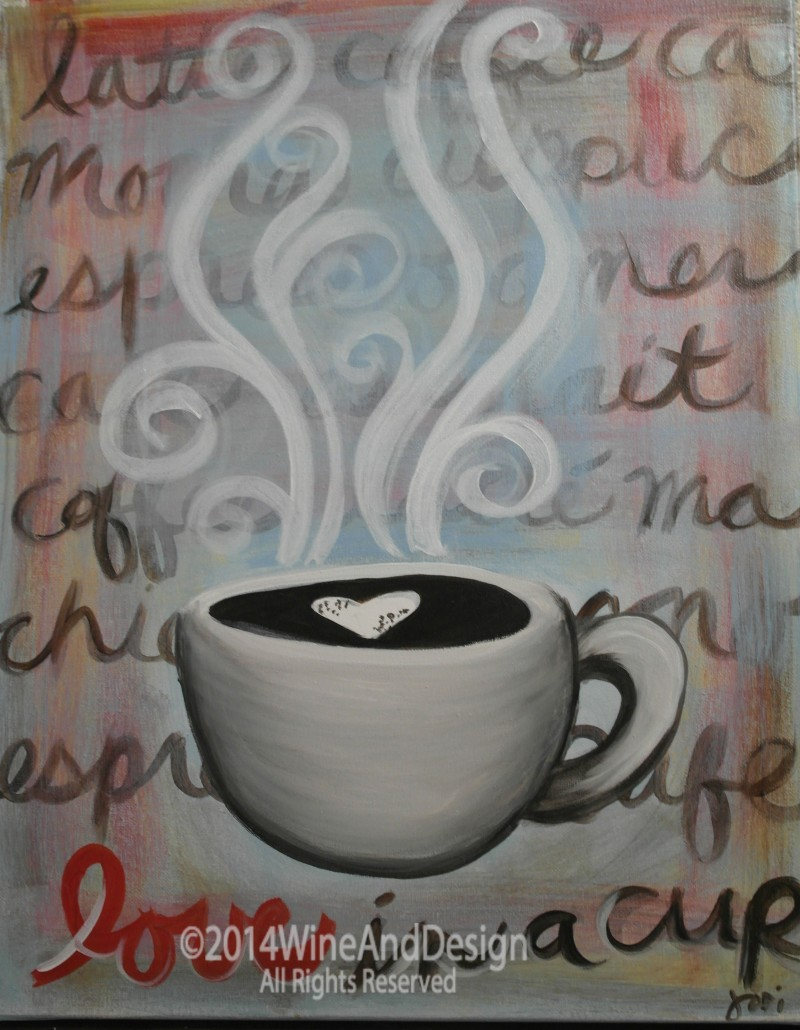 Cup of Love - ZOOM Virtual Class with Take-Home Kit!