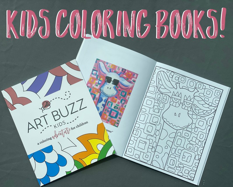 Art Buzz Coloring Books