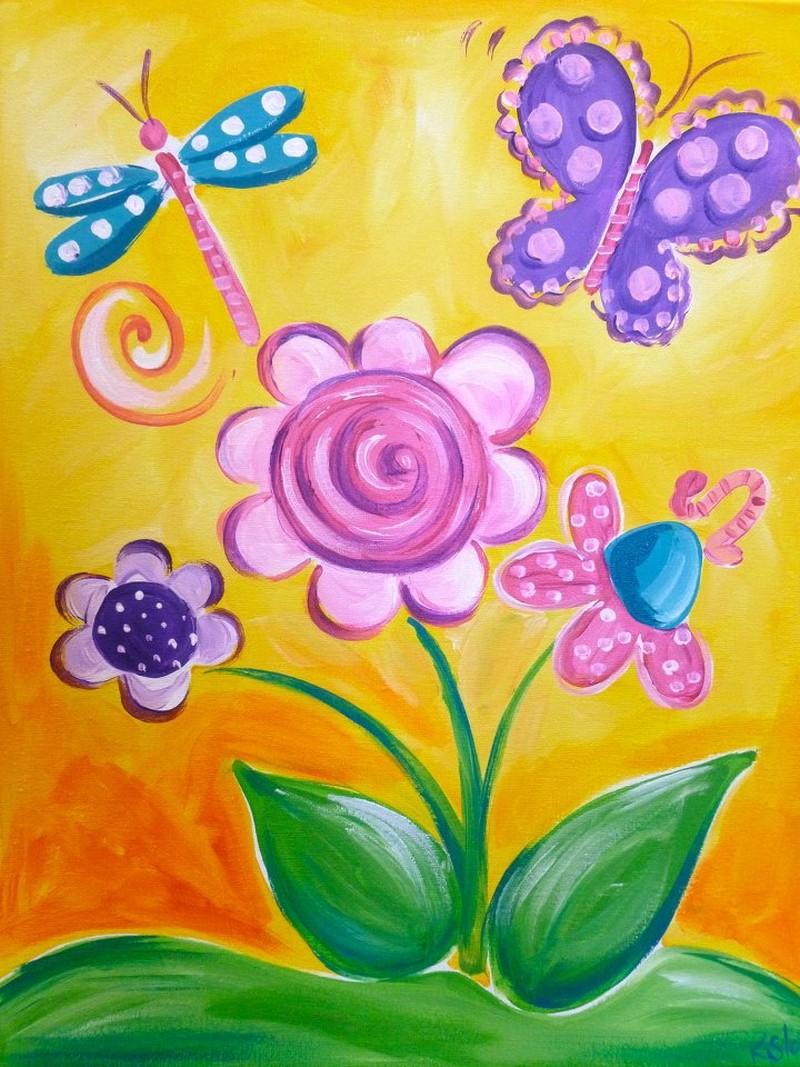Kids Flower & Butterflies