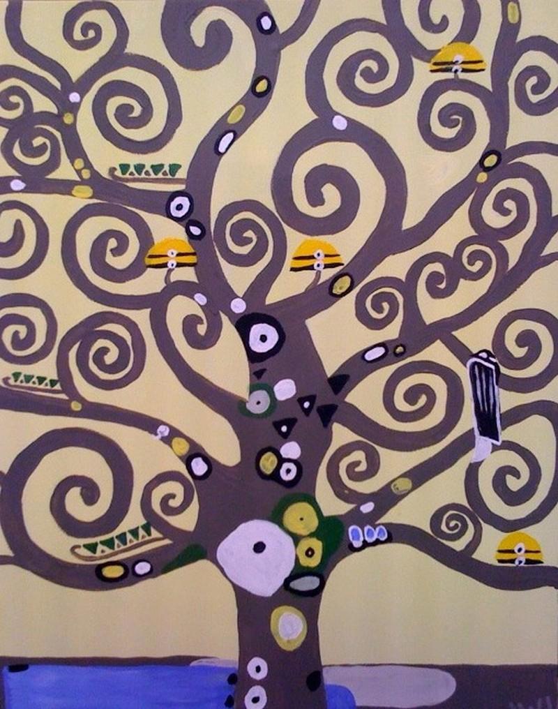 """""""Klimpt's tree"""" Zoom Opt-In"""