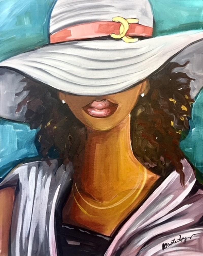 Lady Chanel Virtual Class & Paint Kit