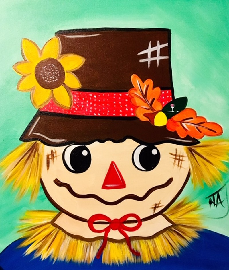 Larry the Scarecrow - ZOOM Virtual Class with Take-Home Kit!