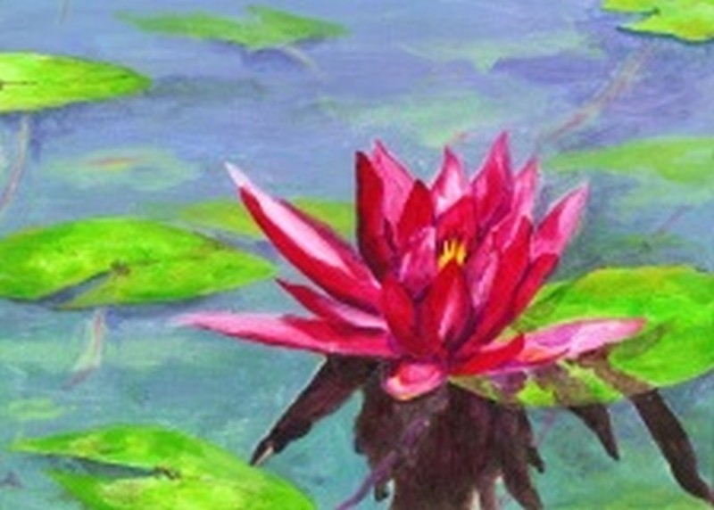 LIVE VIRTUAL CLASS VIA ZOOM-LOTUS FLOWER