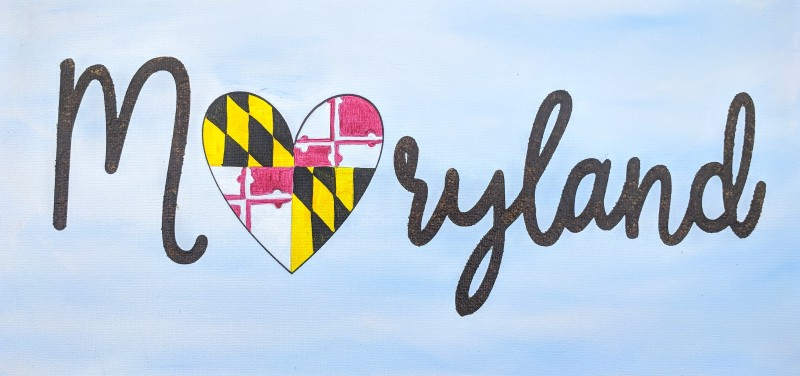 KIT: Maryland Heart (Customizable!)