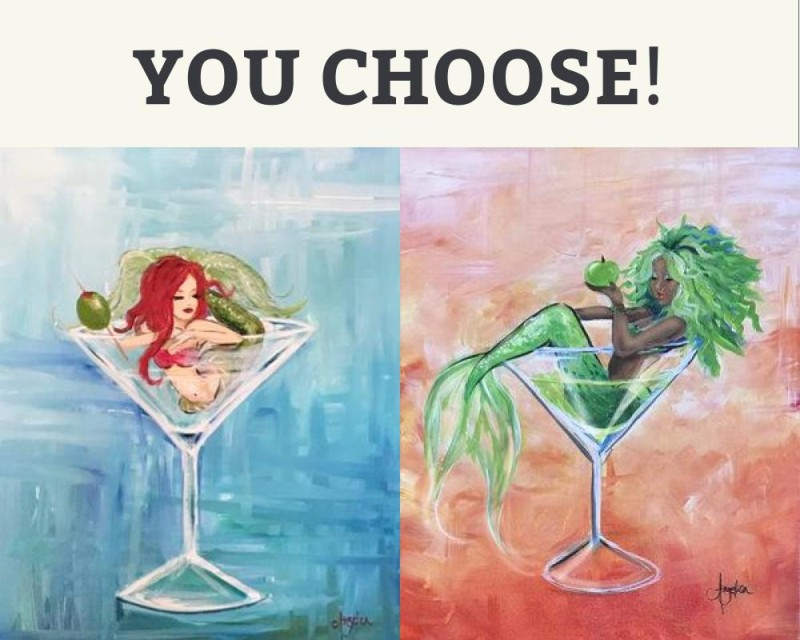 You Choose! Mertini Girls