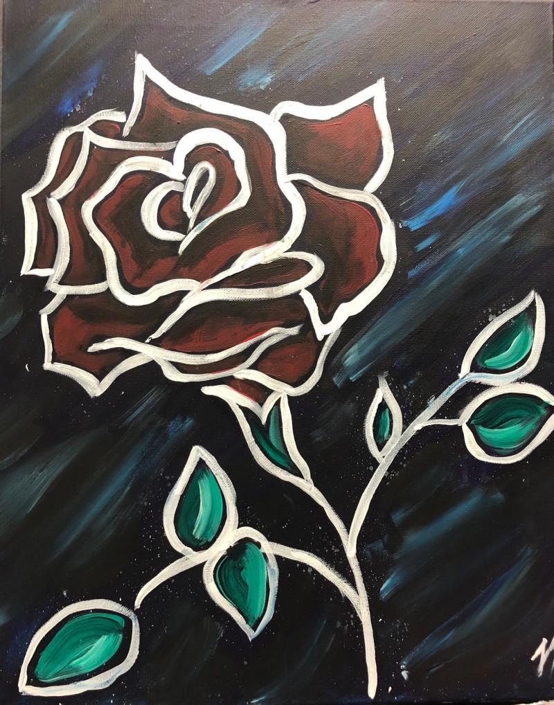 7:00 pm In Studio | Midnight Rose