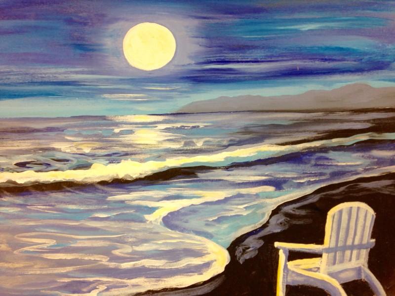 IN STUDIO: MOONLIT BEACH