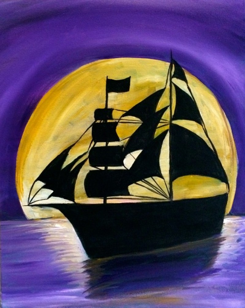 KIT: Moonlit Pirate Ship