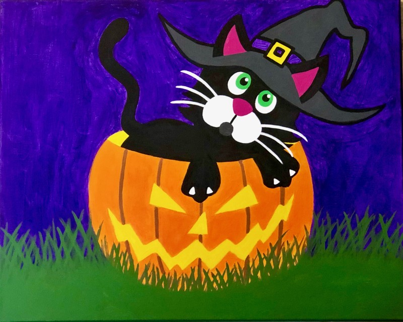 In Studio | ABK Oliver the Halloween Cat