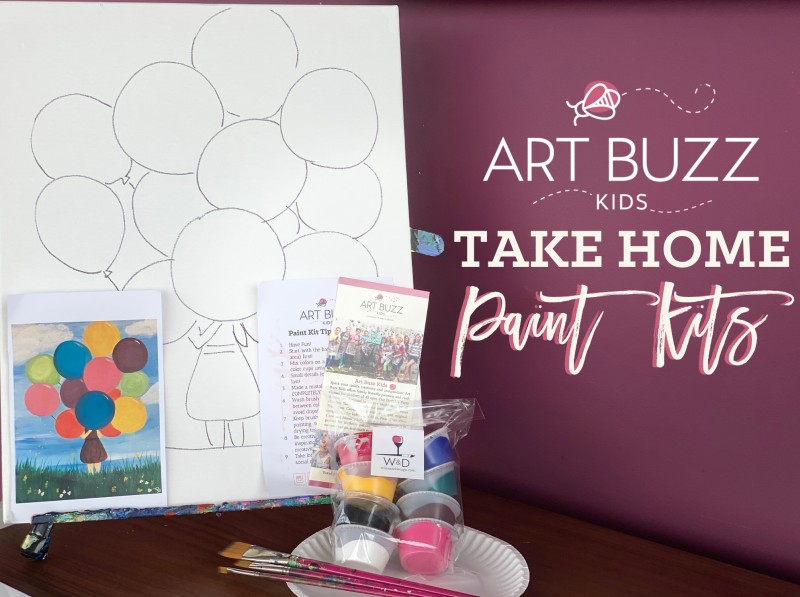 Art Buzz Kit - Home Delivered!