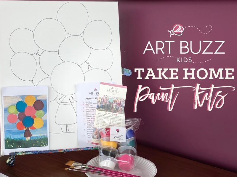 Art Buzz Kids Take Home Kit - Week Of July 20