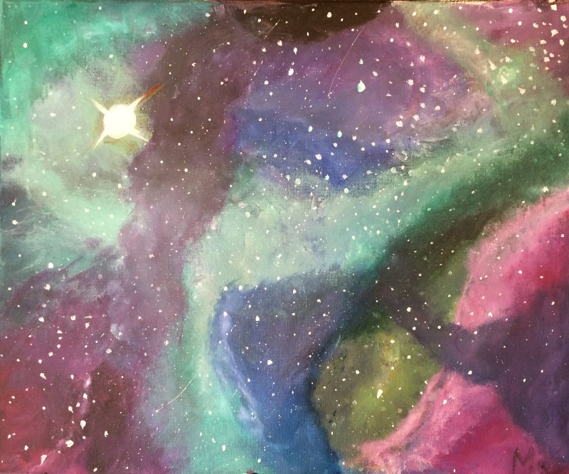 Paint your own galaxy!