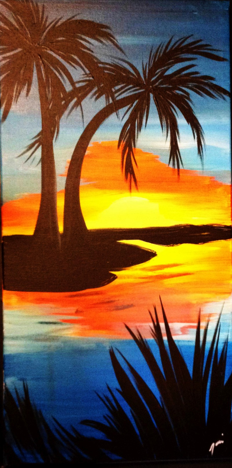Sunset Oasis - IN STUDIO CLASS - Yes we are back! Limited Seating : Only 10 Seats. Book Now!