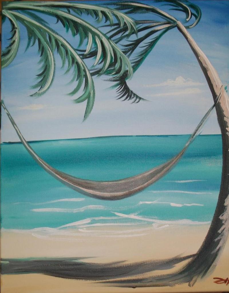 Happy Hour Sunday! Palm Tree Hammock 3pm-5pm - In Studio Class