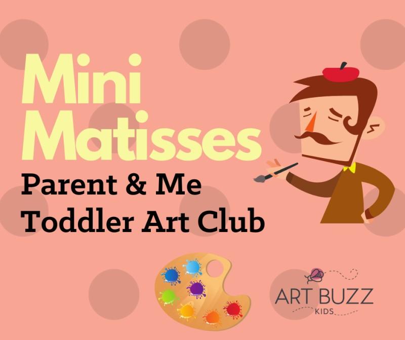 Parent & Me: Toddler Art Club