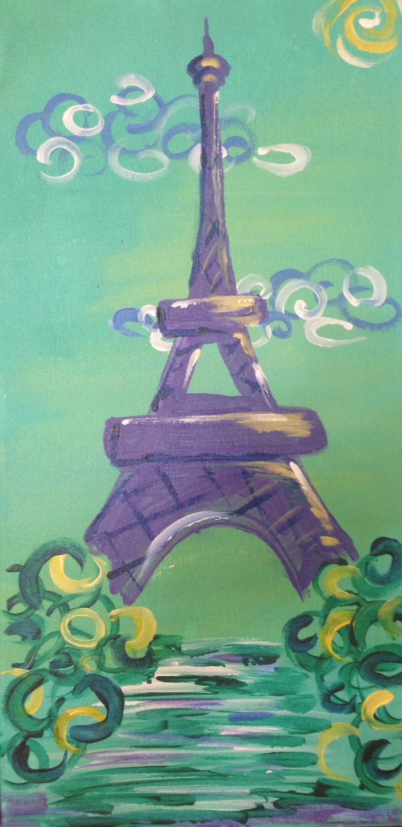 Paris in Spring: Kit W Brushes