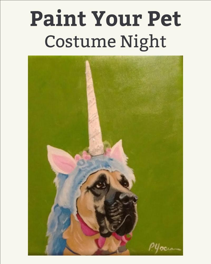 IN STUDIO MINI Paint Your Pet in a Costume!!!