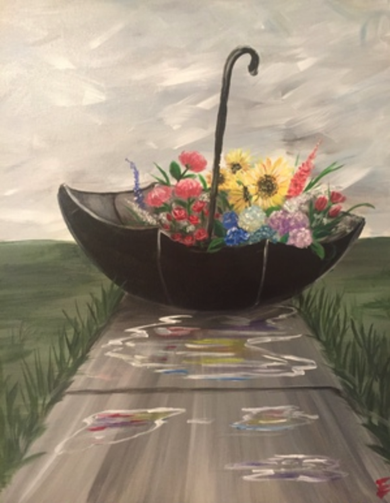 Petals and Puddles - In Studio Class