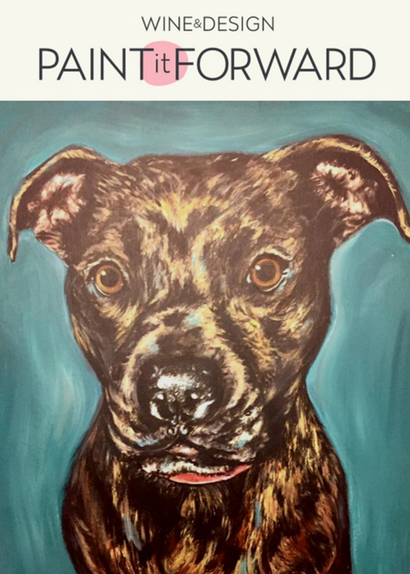 """SOLD OUT IN PERSON!   Take Home Kits Still Available!  """"Paint Your Pet Portrait"""" Fundraiser: Second Chance Pet Adoptions"""