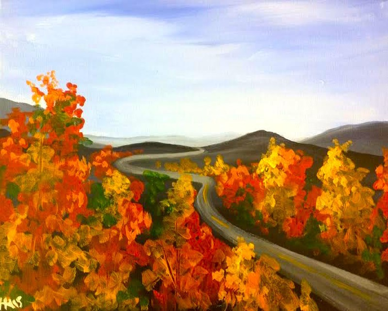 Fall Parkway - ZOOM Virtual Class with Take-Home Kit!