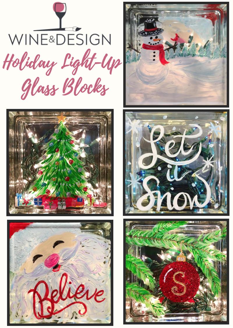 Light Up Glass Block - Take Home Kit