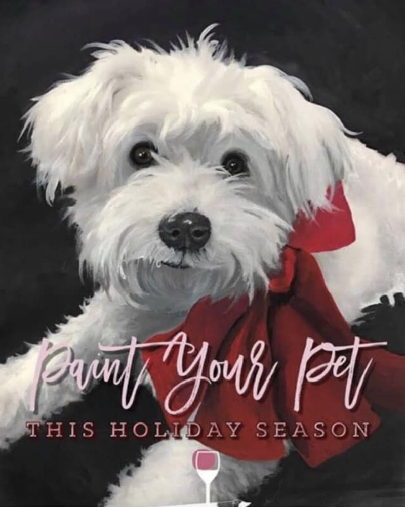 "Adult ""Paint Your Pet!"""