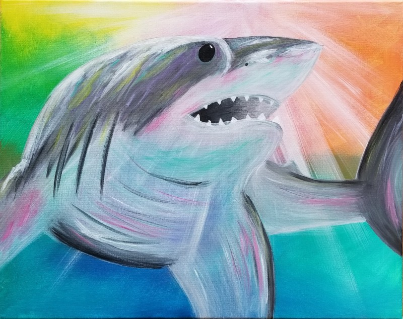 Shark Week 1 Day Camp: Shark in Action - Monday 8/9 9am-1pm