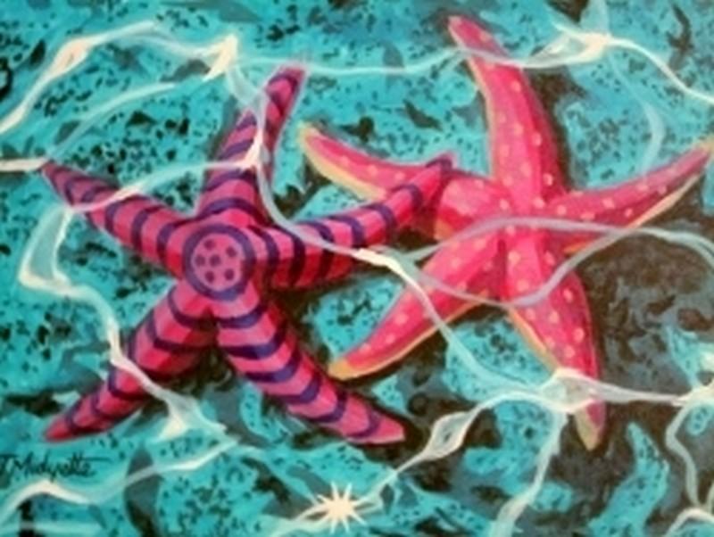 IN STUDIO  Starfish Underwater